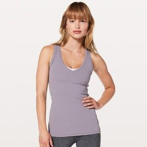 Lululemon All You Do Tank in Dusty Dawn